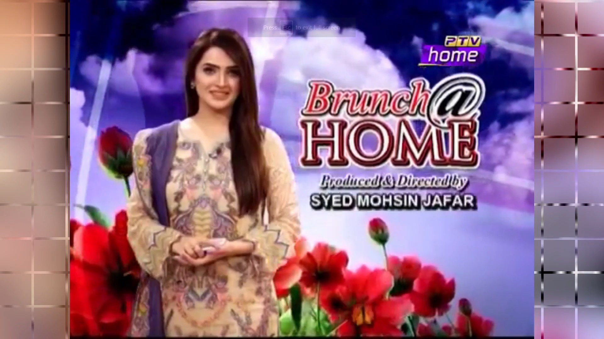 Organic Valley, Pakistan Special Sponsorship at PTV Homes Show Brunch at Home
